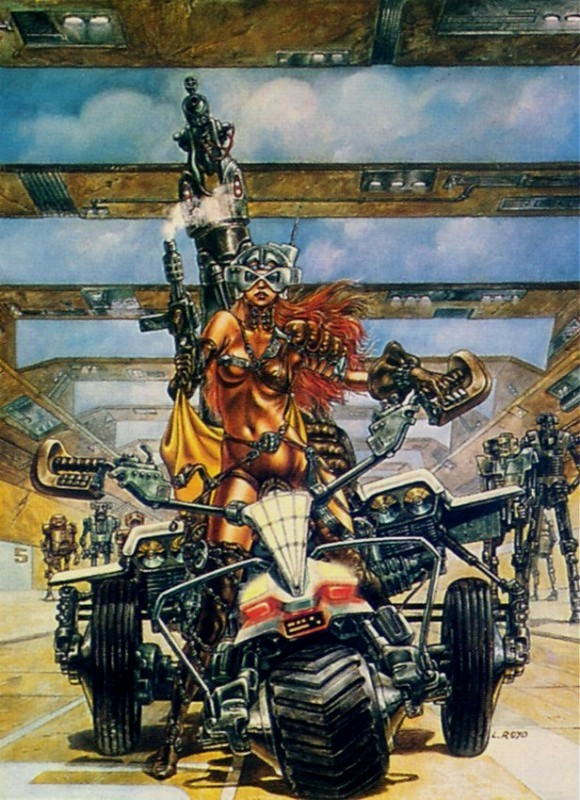 Luis royo heavy metal have removed