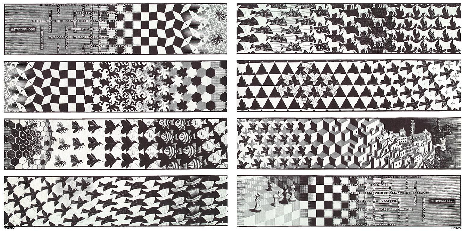 Метаморфозы на рисунках