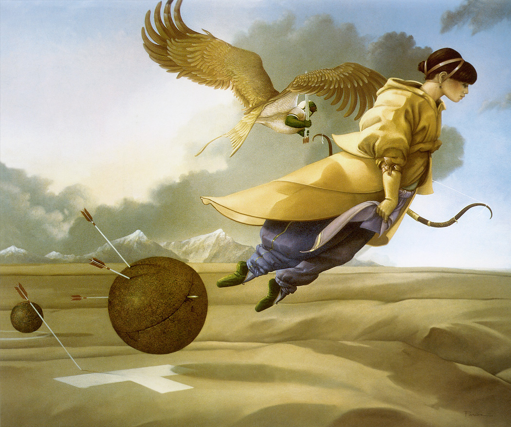 Fantasy art michael parkes for Painting games com