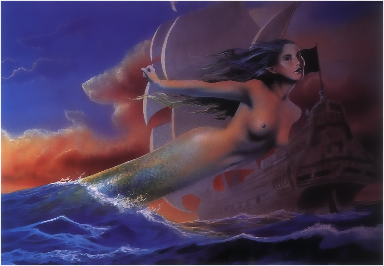 Fantasy sex erotica mermaid art sexy pics